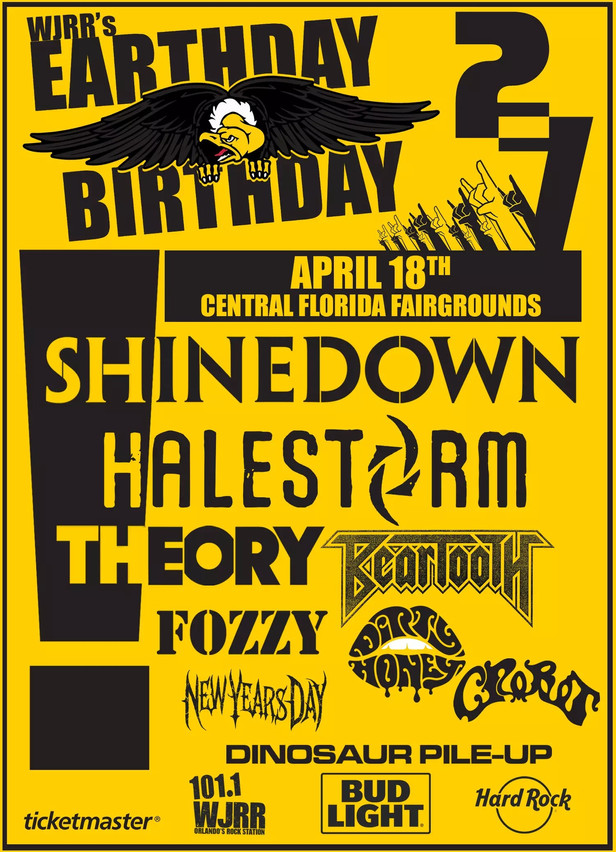 Earthday Birthday 27 Line-up Announced