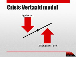 Crisis Vertaald: Nood breekt Ego