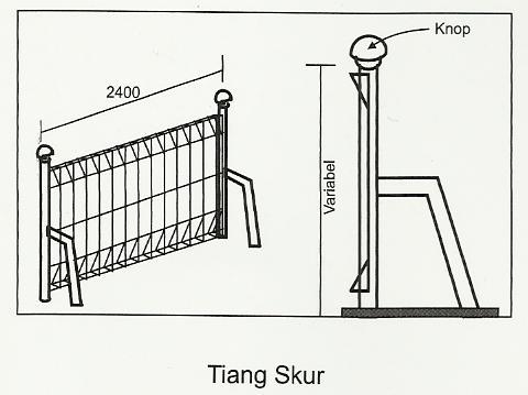 Tiang Skur