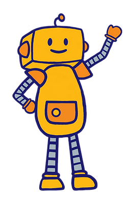 Roboter winkend transparent.png