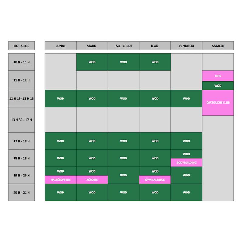 Planning-Hebdomadaire-Cours-CrossFit-Gen