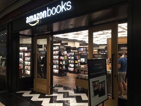 Fysiek doen wat online goed werkt! Amazon Books doet het zo >