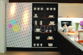 decoração adesivo armário de cozinha