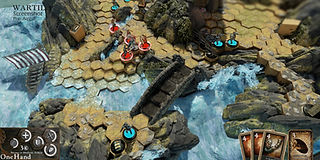 """Wartile"" - In game screen shot of early alpha version"