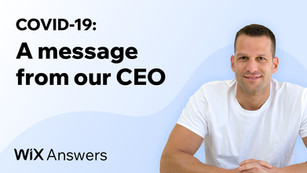 A message from our CEO, Elad Eran, during times of COVID-19