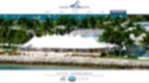 Our designs for Sperry Tents Miami - Web design.