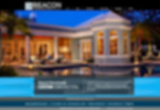 Our designs for Beacon Construction Group - web design.