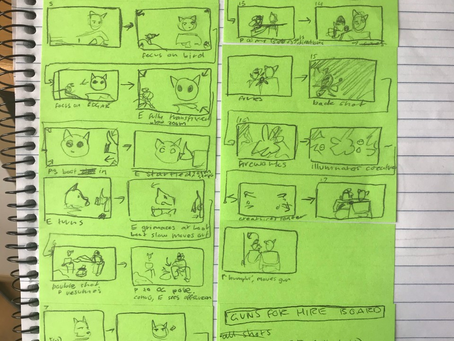 Storyboarding with Blender's Grease Pencil