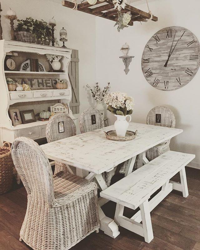 Customer appreciation photo!! 😍#farmhousetable #fixerupperstyle #farmhousestyle #likeforlike #fixer