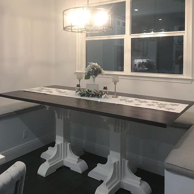 Customer appreciation photo. Hightop pedestal table. 👍🏻_._._._