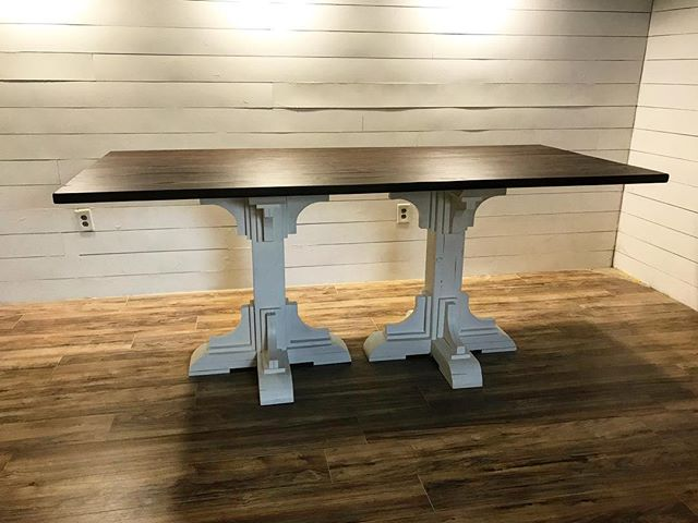 New table to me.jpg  The client specifically requested #generalfinishes Java on this one