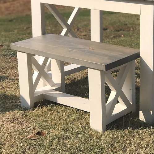 Square X Bench
