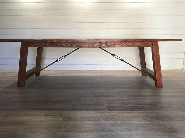 Farmhouse Industrial table