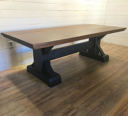 Post and beam table