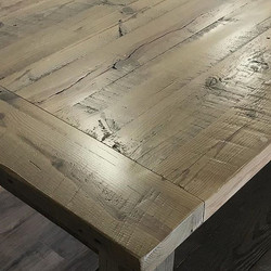 To make Barnwood 100% smooth as glass will take stripping it of all of its natural character