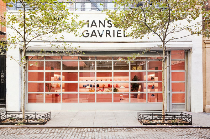 On Tour: Inside Mansur Gavriel's New York Pop-Up
