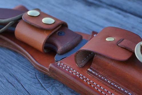 Leather Sheath for Tahoma Field Knife