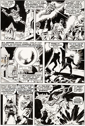 Wally Wood Astonishing Tales #2 Story Pa