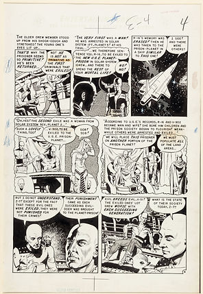 Wally Wood Weird Fantasy #14 The Exile!