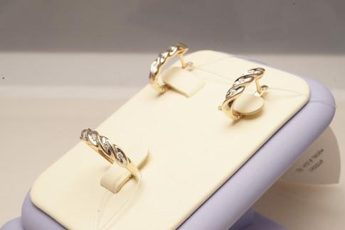 Комплекты с бриллиантами