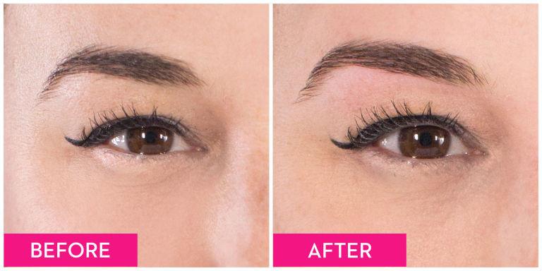線面技術能準確的控制眉形
