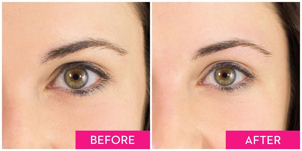 線面能很好的修整你的眉形