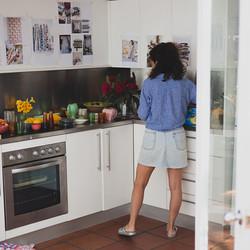 My little studio cottage kitchen