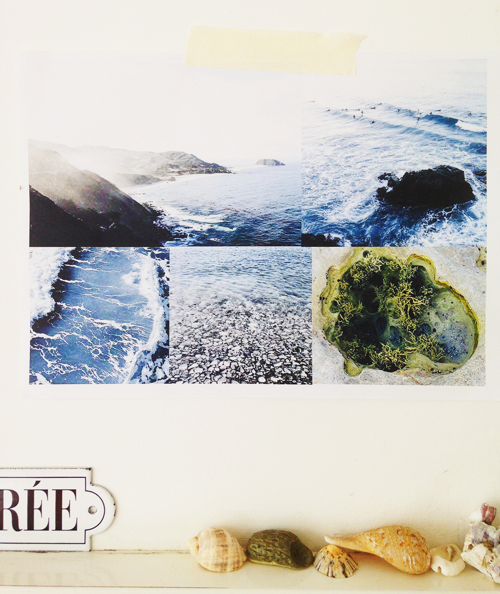 La Mer photography mood board