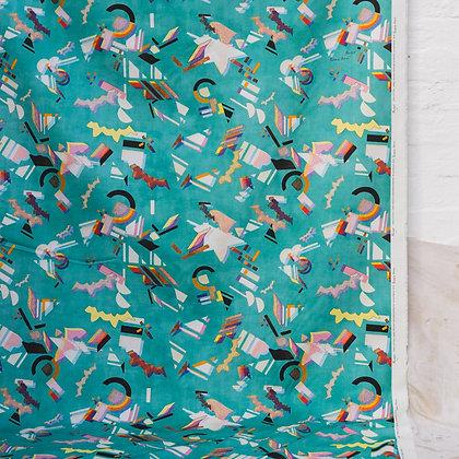 Palais Aqua Fabric