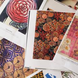 Charles Renne Mackintosh Textile Designs