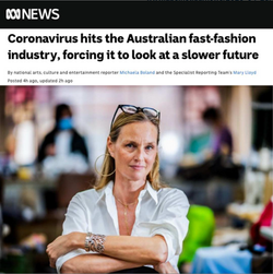 ABCnews - Coronavirus hits the Australian fast-fashion industry, forcing it to look at a slower futu