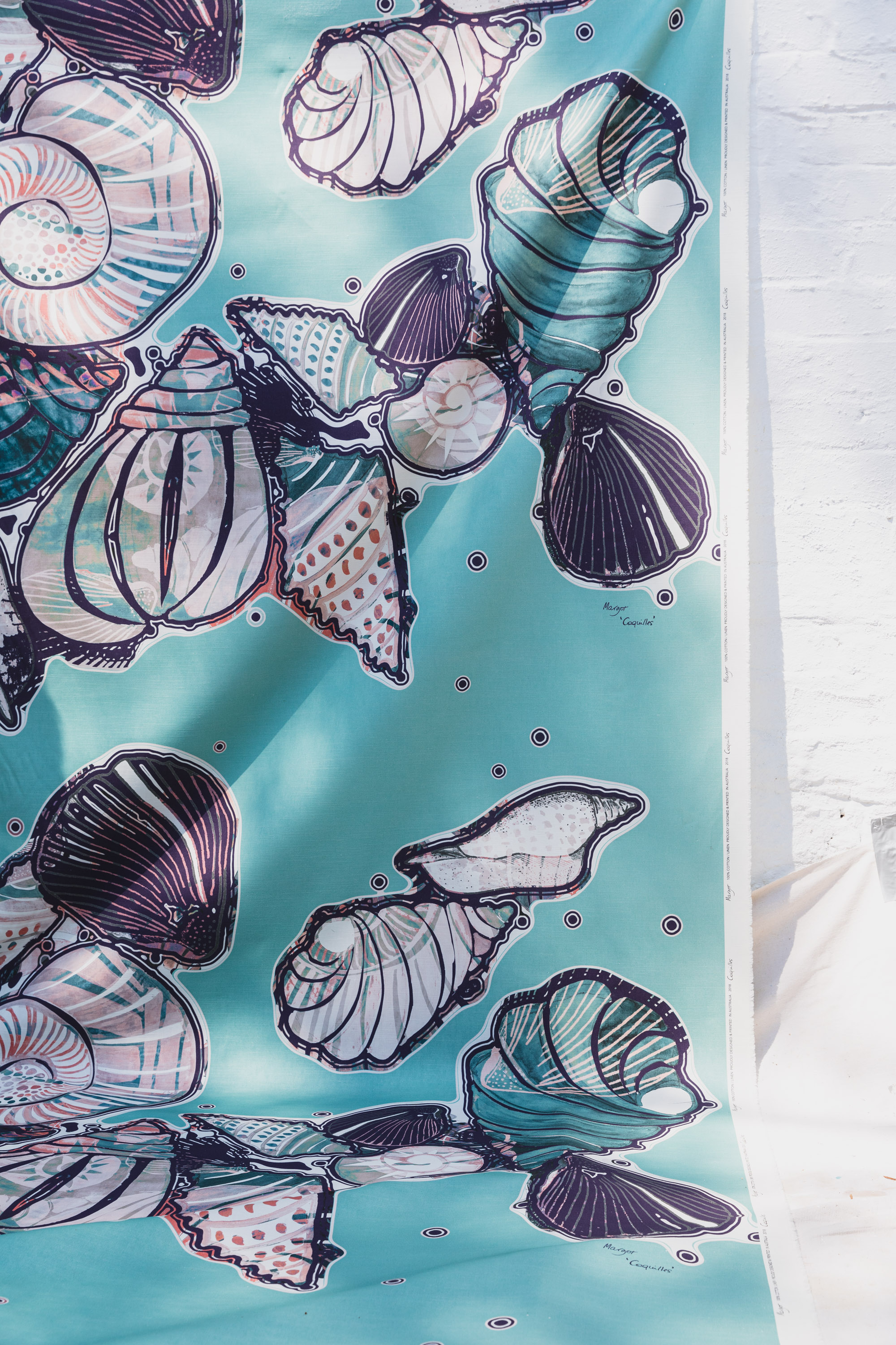 Coquilles Fabric
