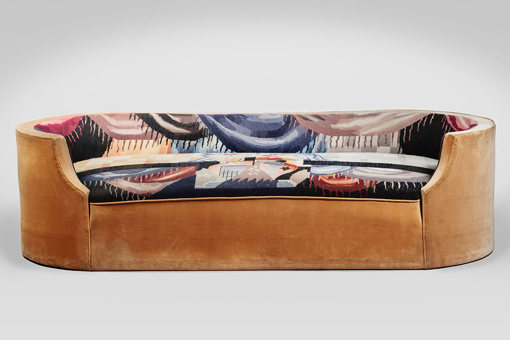 Pierre Chareau, Art Deco Sofa