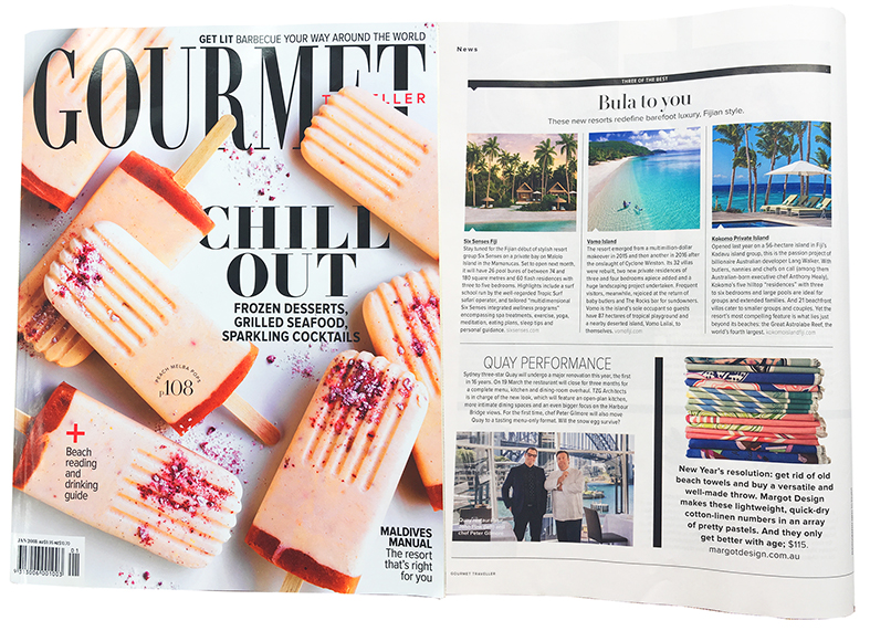 Gourmet Traveller, January 2018