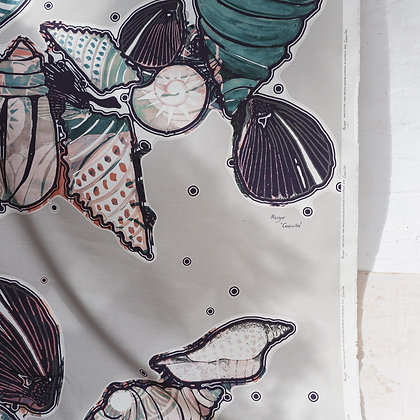 Coquilles Driftwood Fabric