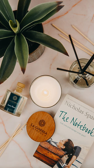 Scented Candles & Reed diffusers