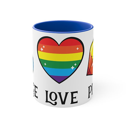 Peace-Love-Pride Mug