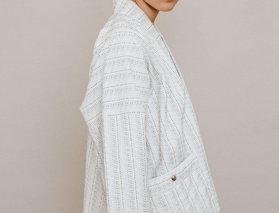Profile Veste kimono SABINE Sixsoeurs Fabriqué à Paris