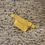 Sac banane velours jaune KATE iconique Sixsoeurs Fabriqué à paris plan large