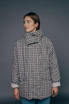Veste manteau ouatiné NOUR Sixsoeurs Fabriqué à Paris face allure