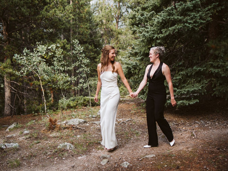 A GOLDEN GATE CANYON STATE PARK WEDDING IN GOLDEN