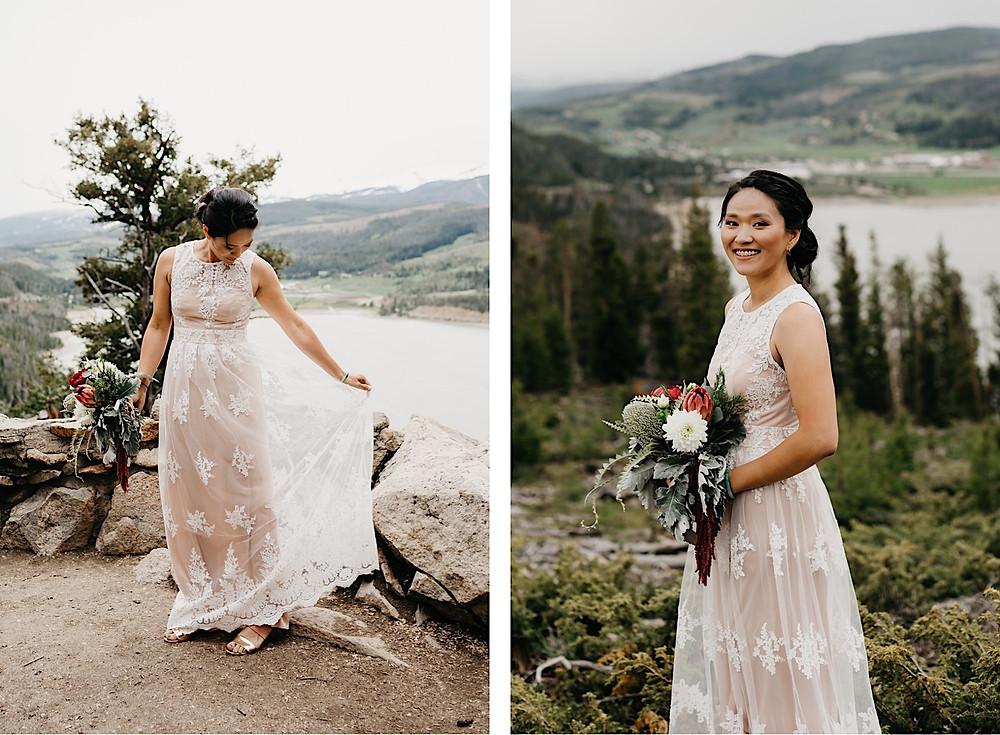 Bride Portraits sapphire Point Breckenridge