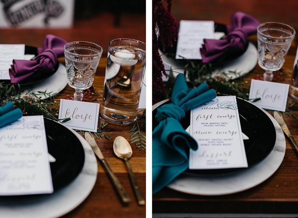 reception details Bread bar silver Plume Colorado