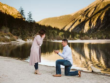 A SURPRISE PROPOSAL ENGAGEMENT SESSION IN BUENA VISTA