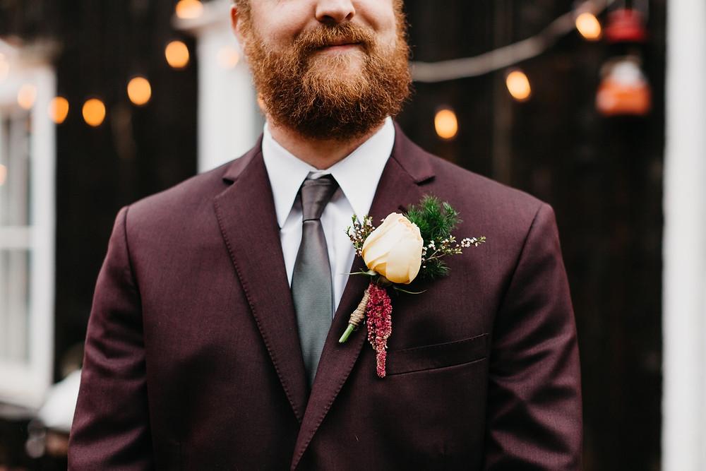 Groom Portraits at Bread bar silver Plume Colorado