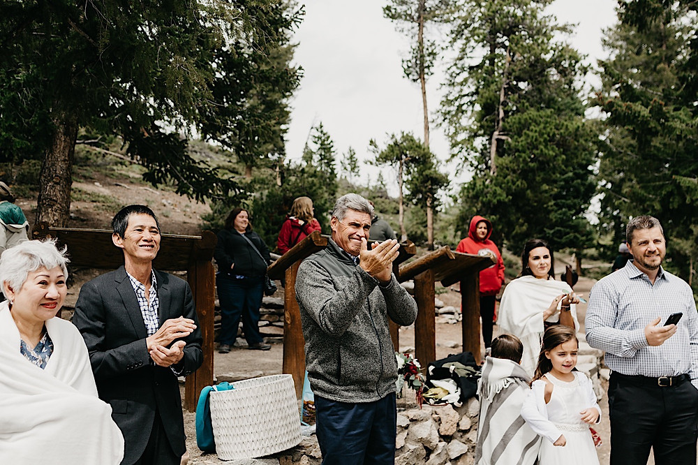 intimate wedding sapphire Point Breckenridge