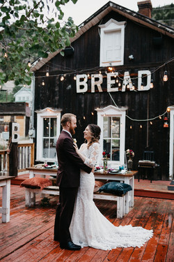 Bread Bar Wedding in Silver Plume