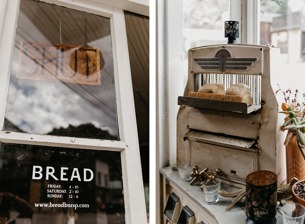 Bread bar silver Plume Colorado