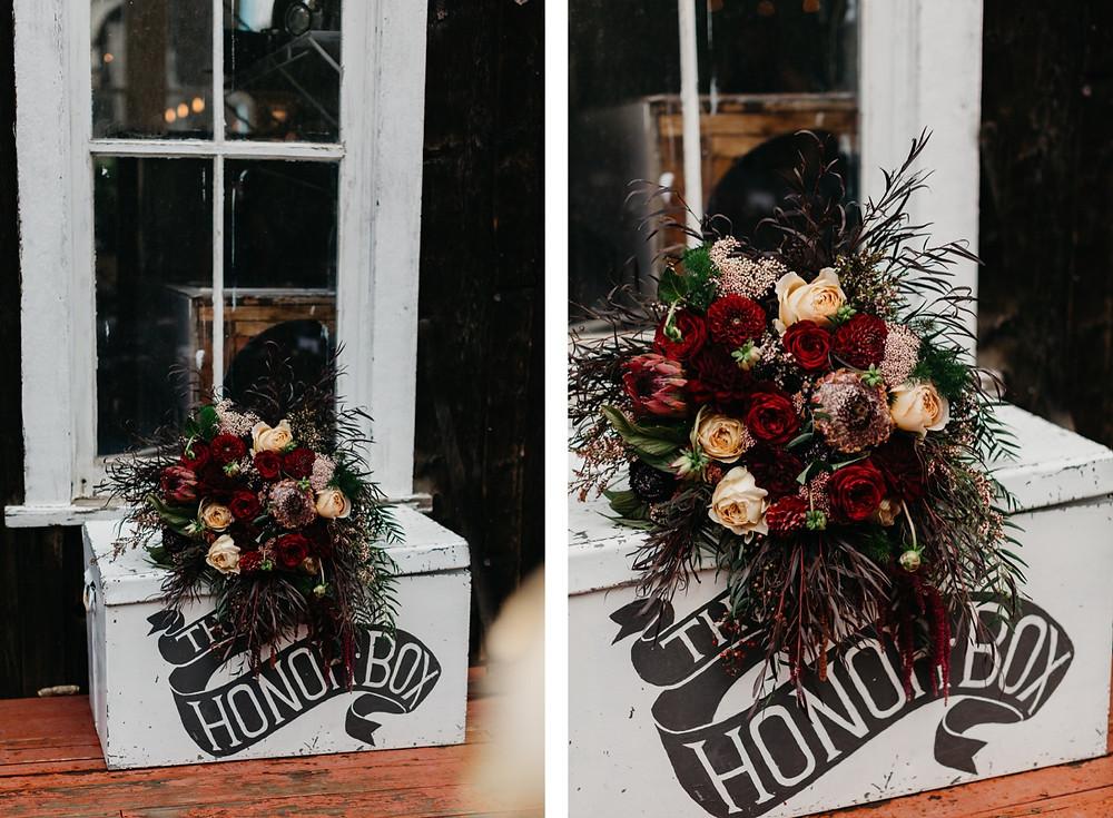 wedding bouquet details Bread bar silver Plume Colorado