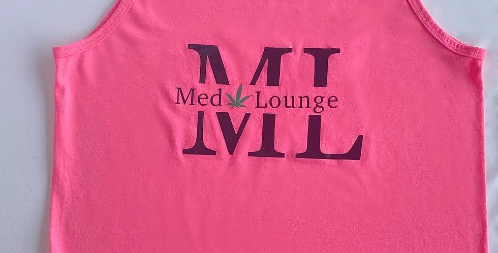 ML Pink Logo Tank